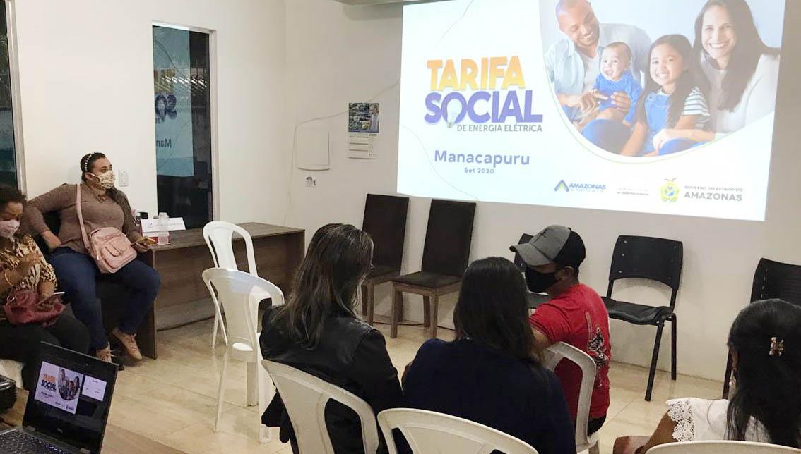 Município de Manacapuru, no Amazonas, recebe visita da equipe da Tarifa Social de Energia Elétrica